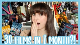 MOVIE & TV SHOW WRAP UP // November 2019 - I Watched 30 Films in November 😱