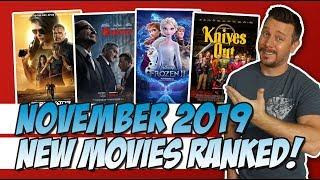 All 16 November 2019 Movies I Saw Ranked!