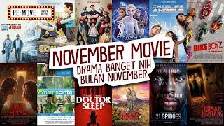 MOVIE LIST NOVEMBER 2019 - Drama November