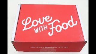 """Love with Food Box November 2019 """"Deluxe"""" Unboxing + Coupons #lovewithfood"""