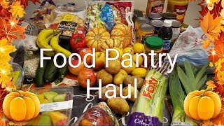November Food Pantry Haul