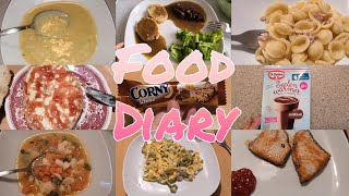 REALISTISCHES Food Diary November 2019