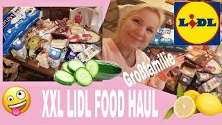 XXXL Lidl Food Haul November 2019 | Großfamilie