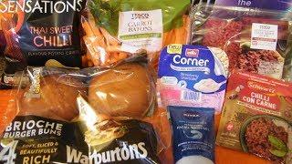 Tesco Haul November 2019 7th | Weekly Food Grocery Shopping Haul UK