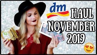DM HAUL NOVEMBER 2019 - Beauty, Haare, Pflege, Food I Cindy Jane