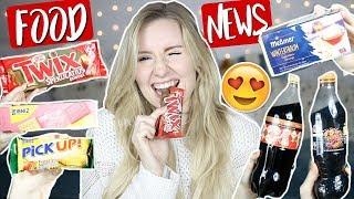 YUMMY! 😋 Die FOOD NEUHEITEN im NOVEMBER musst du kennen! 🥤 Cola Zimt, Twix Spekulatius & MEHR!