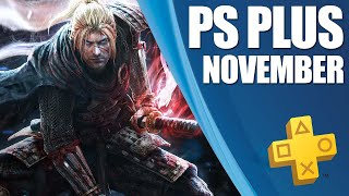 PlayStation Plus Monthly Games - November 2019