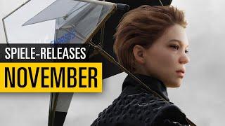 Spiele-Releases im November 2019 | Für PC, PS4, Xbox One und Switch