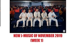 New Japanese Music Releases of November 2019 - Week 1