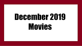 ►List of December 2019 Movies | MUST-WATCH in Theaters