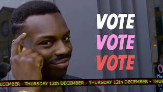 Why young people should vote on 12 December