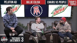 Are There More Chairs or People on Earth??? - December 3, 2019 - Barstool Rundown