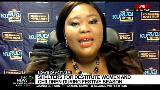 16 Days of Activism I Shelter for destitute women and children