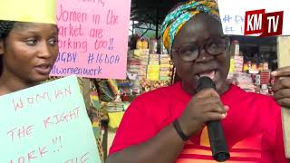 ActionAid Liberia takes 16 Days of Activism to Market Places