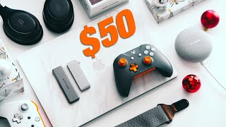 The BEST Tech Gifts Ideas UNDER $50 - 2019 Gift Guide