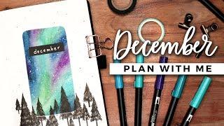 PLAN WITH ME | December 2019 Bullet Journal Setup