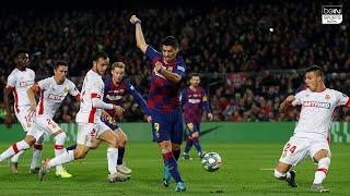 Luis Suarez Amazing back-heel goal Barcelona vs Mallorca 12/7/19