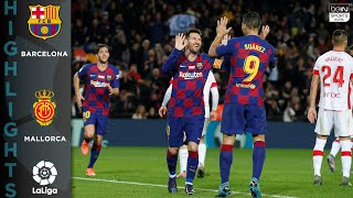 FC Barcelona 5-2 Mallorca - HIGHLIGHTS & GOALS - 12/7/19