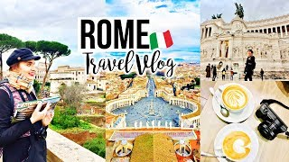 Rome in Winter Travel Vlog 🇮🇹🍕🍝3 day Rome itinerary + Rome insider tips! ✨🗺{January 2019}