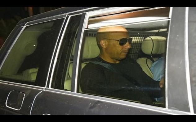Vin Diesel Spotted Leaving from India after xXx Release | SpotboyE