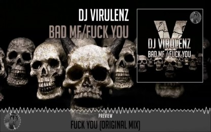 Dj Virulenz - Fuck You (Original Mix) - Official Preview (Fuck Off Records)