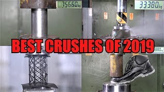 TOP 10 BEST Crushes of 2019   Viral HPC Videos Compilation