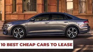 10 Best Cars To Lease 2019 – Cheap & Reliable !