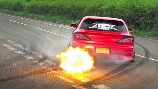 BEST-OF JDM Cars Leaving a Car Show - 2019! [Part 1]