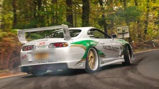 BEST-OF JDM Cars Leaving a Car Show - 2019! [Part 2]