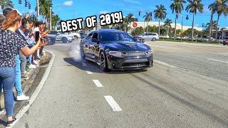 Best Cars & Coffee Pullouts & Burnouts of 2019!!