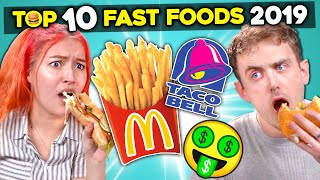 College Kids React To The Top 10 Richest Fast Food Chains of 2019