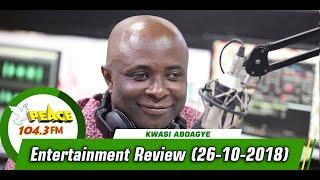 ENTERTAINMENT REVIEW ON PEACE 104.3 FM (26/10/2019)