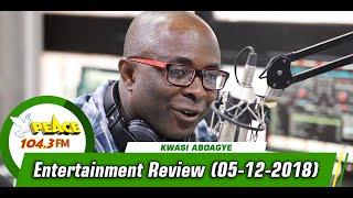 ENTERTAINMENT REVIEW ON PEACE 104.3 FM (5/12/2019)