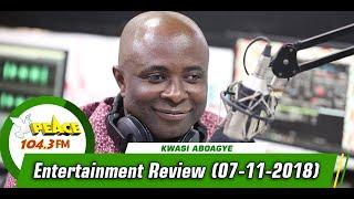 ENTERTAINMENT REVIEW ON PEACE 104.3 FM (07/11/2019)