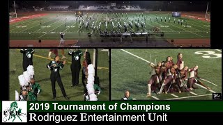 2019 Rodriguez Entertainment Unit Field Show at TOC Band Review