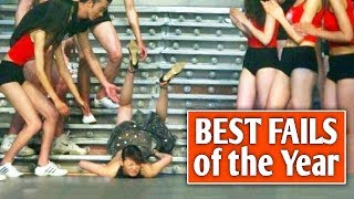 Top Best Fails of the Year 2019 - Funny Videos Compilation - Try Not To Laugh Impossible!