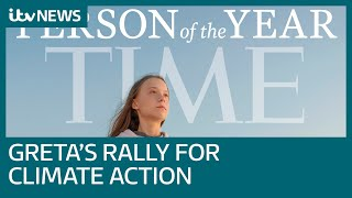 Greta Thunberg named Time magazine's 2019 Person of the Year | ITV News