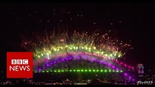 New Year Celebrations: Australia welcomes in 2019  - BBC News