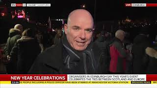 Sky News: London New Year Coverage 2019