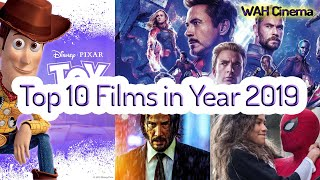 Top 10 Movies in Year 2019