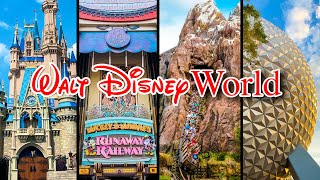 Top 10 Disney World Rides - Virtual Park Hopping with Disney Ride POVs