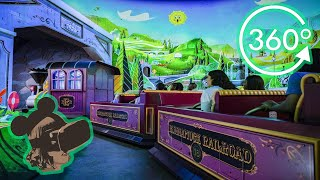 *NEW* 360º Ride on Mickey & Minnie's Runaway Railway COMPLETE EXPERIENCE