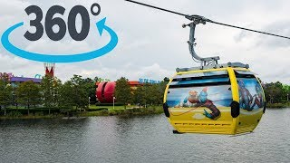 360º Ride on Disney Skyliner