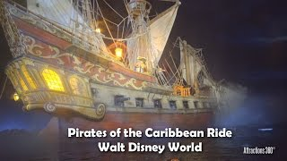 [4K] Pirates of the Caribbean Ride - Walt Disney World - Magic Kingdom