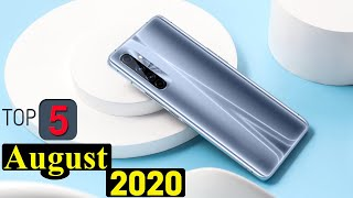Top 5 UpComing Mobiles in August 2020 india ! Price & Launch Date