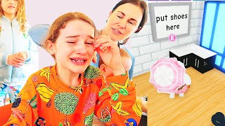 NAZ CRIED MAKING MAMA'S DREAM HOUSE in Adopt Me Roblox Gaming w/ The Norris Nuts