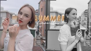 MY SUMMER FAVORITES ☀️ Beauty, Fashion, Skincare & Books !! | Sissel