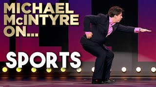 Compilation of Michael's Best Jokes About Sports | Michael McIntyre