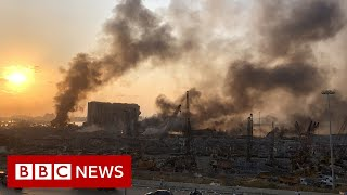 Beirut blast: Frantic search for survivors of deadly explosion - BBC News