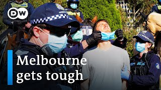 Coronavirus Australia: Melbourne under strict lockdown as cases surge | DW News